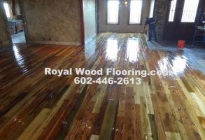 Distressed Hardwood Flooring Installers Sanding Refinishers