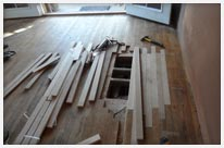 Repair damaged Wood Flooring